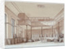 Interior of the Coachmakers' Hall, Noble Street, City of London by