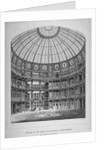 Interior of the New Coal Exchange, Lower Thames Street, City of London by Laing
