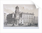 View of the New Coal Exchange in Lower Thames Street, City of London by Anonymous