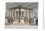 Interior view of the Coal Exchange, Thames Street, City of London by Anonymous