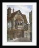 Houses in Bishopsgate, City of London by JL Stewart