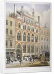 Crosby Hall at no 95 Bishopsgate, City of London by Vincent Brooks