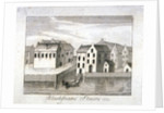 View of Blackfriars Stairs and surrounding buildings, City of London by Anonymous