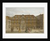 View of Blackwell Hall on King Street, City of London by Robert Blemmell Schnebbelie