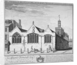 North-east view of the Church of St Botolph Aldersgate, City of London by William Henry Toms