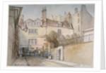 Bride Lane, City of London by Thomas Colman Dibdin