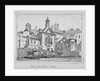 View of Serjeants' Inn with a horse and cart, Chancery Lane, City of London by