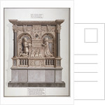 Monument to Richard Allington in Rolls Chapel, Chancery Lane, City of London by Frederick Nash