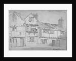 Buildings in Castle Yard, Blackfriars, City of London by