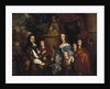 Sir Edward Hales and his family by Peter Lely