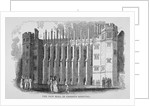 View of the hall, Christ's Hospital, City of London by Anonymous