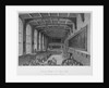 Interior of the hall; delivery of the annual orations, Christ's Hospital, City of London by Harden Sidney Melville