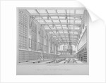 Interior view of the hall, Christ's Hospital, City of London by