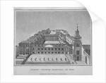 Bird's-eye view of Christ's Hospital as it was in 1720, City of London by Anonymous