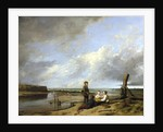 Shrimp boys at Cromer by William Collins