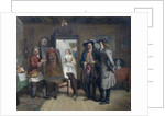 Sir Roger de Coverley and Addison with 'The Saracen's Head' - a Scene from The Spectator by