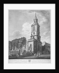 Church of St Botolph without Bishopsgate, City of London by George Hawkins