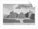 The Navy Office in Crutched Friars, City of London by