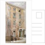 Houses in Crane Court, near Fleet Street, City of London by James Findlay