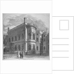 View of the Clothworkers' Hall from Dunster court, City of London by