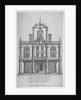 Duke's Theatre, Dorset Gardens, City of London by William Sherwin