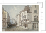 Coleman Street, City of London by Thomas Colman Dibdin