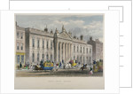 North view of East India House, Leadenhall Street, City of London by Sir William Wallace