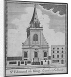 West end of the Church of St Edmund the King, City of London by Anonymous