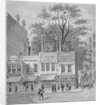Shops on Cheapside, City of London by Anonymous