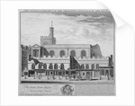 South-east view of the Church of St Dunstan in the West, Fleet Street, City of London by William Henry Toms