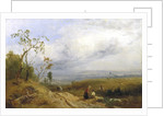 A Peep at the Metropolis from Hampstead Heath by James Baker Pyne