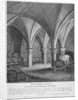 Crypt under Gerard's Hall on the south side of Basing Lane, City of London by