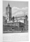 View of St Dionis Backchurch from Fenchurch Street, City of London by William Wise