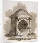 The London Stone, Cannon Street, City of London by William Bernard Cooke