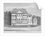 View of Dr Salmon's house on the Fleet River, City of London by Anonymous