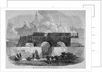 The remains of Fleet Prison, City of London by Anonymous