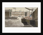 View of the Custom House from the River Thames, City of London by Anonymous