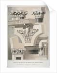 Architectural details, Fleet Street, City of London by Robert Dudley