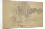 Edinburgh from the Artist's Room by Sir John Gilbert