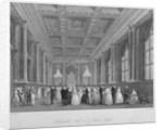 Interior view of the Goldsmiths' Hall on a ball night, City of London by Harden Sidney Melville
