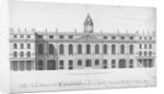 View of the new Custom House, rebuilt after the fire of 1718, City of London by