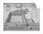 Gresham College, City of London by George Vertue