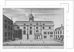 View of Grocers' Hall at time it housed Bank of England, City of London by Anonymous