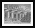 Front view of Grocers' Hall, City of London by Anonymous