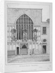 Guildhall Chapel, City of London by Anonymous