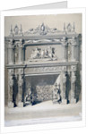 Fireplace in Ironmongers' Hall, Fenchurch Street, City of London by Day & Son