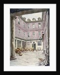View of the courtyard of no 102 Leadenhall Street, City of London by John Phillipps Emslie