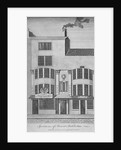 View of buildings in Leadenhall Street, City of London by William Darton & Co