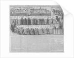 Roman Catholic procession, City of London by Anonymous