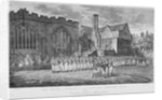 Leathersellers' Hall, and the Church of St Helen, Bishopsgate, City of London by Anonymous